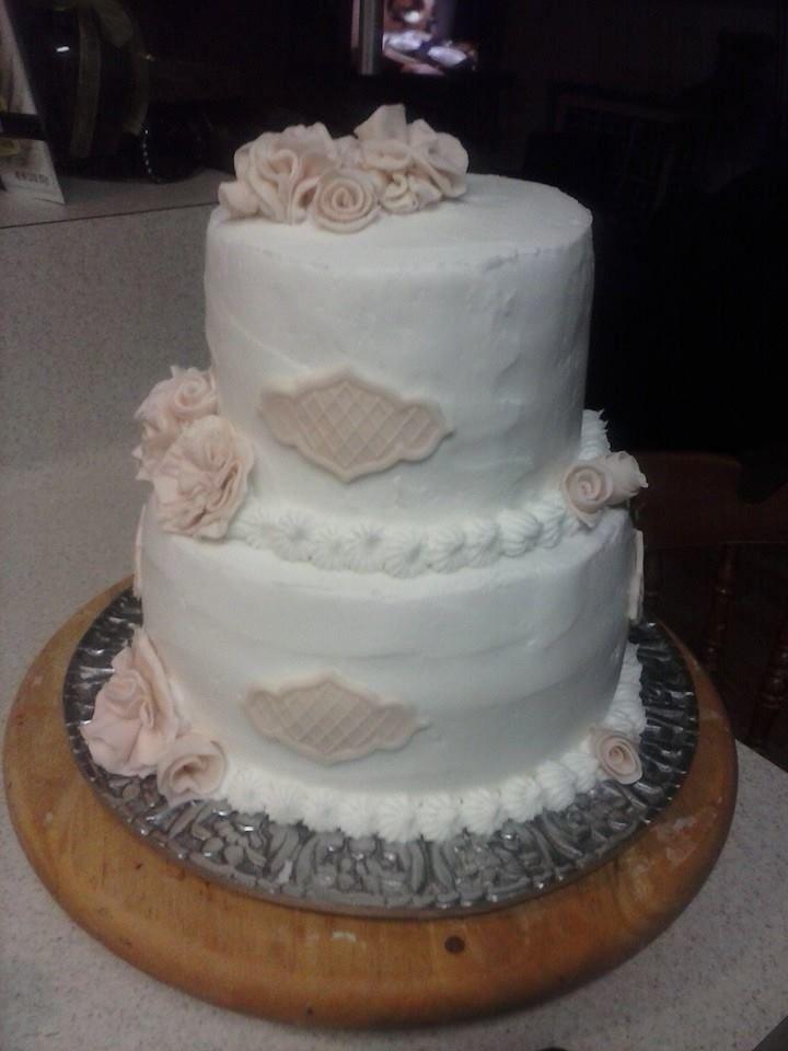 Vintage Wedding Cake Lake House Cakes Pinterest