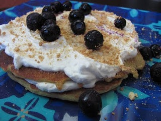 Blueberry Cheesecake Pancakes | Sweet Tooth | Pinterest