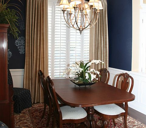 Dining room window treatment ideas car interior design for Dining room window treatments