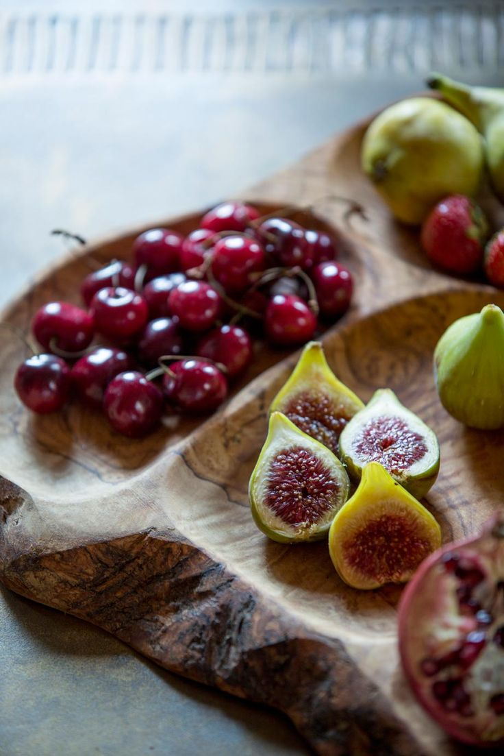 Fig and Cherry Platter from Monemvasia, Greece