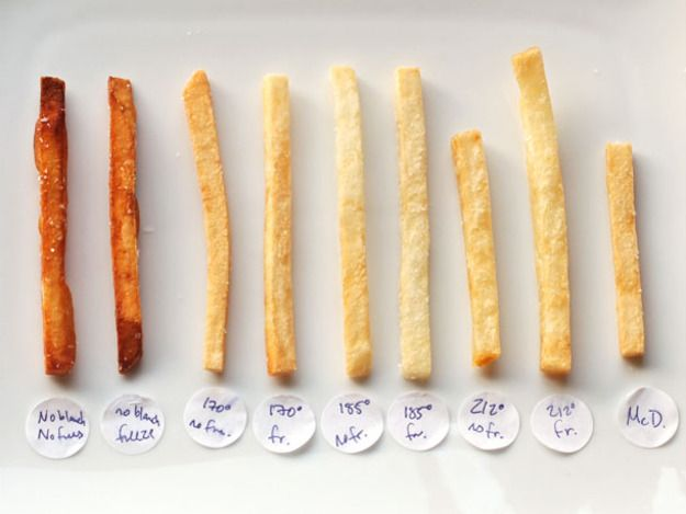 ... : How to Make Perfect Thin and Crisp French Fries | A Hamburger Today