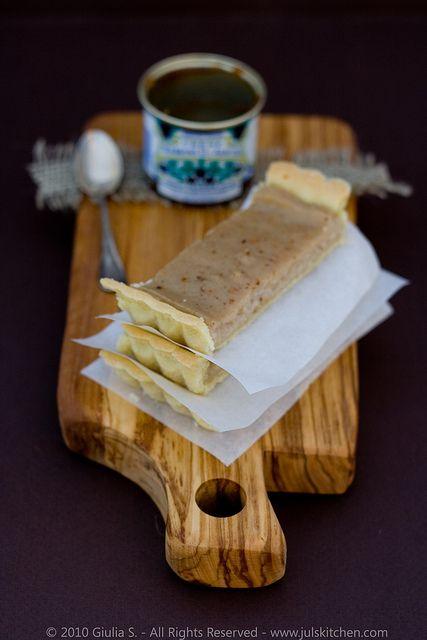 Crostata filled chestnut pastry cream | Food - Desserts | Pinterest
