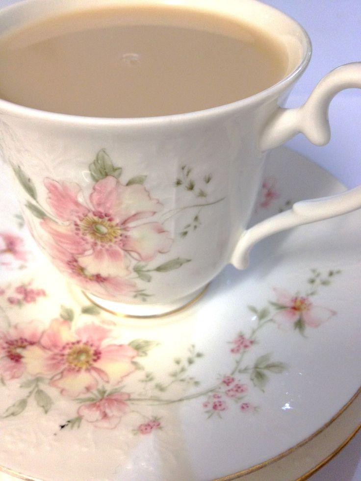 Tea with Milk | A Cup of Tea | Pinterest