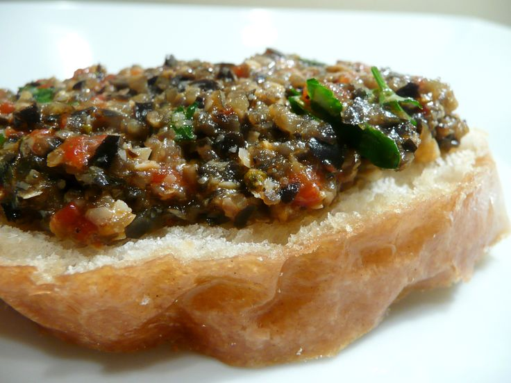 Black Olive Tapenade | Stuffed & Satisfied | Pinterest