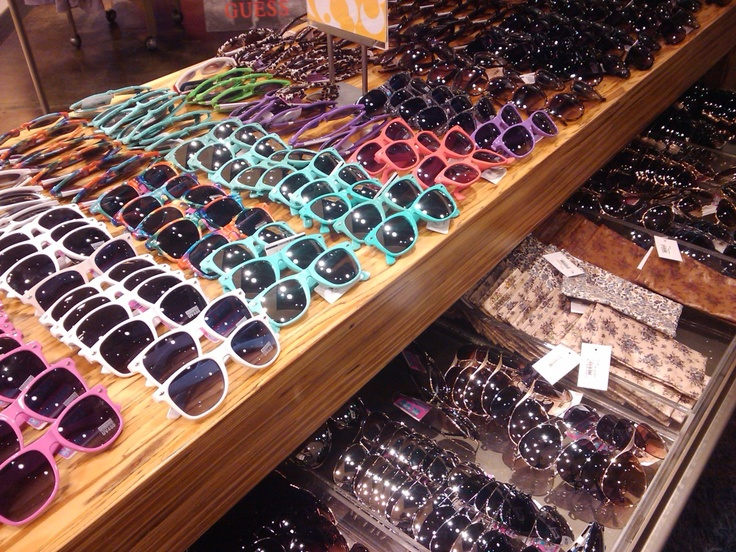 sunglasses galore at nordstrom, la cantera. O.O