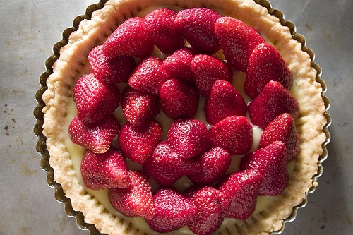 Strawberry Lemon Curd Tart | B&B Breakfast Recipes | Pinterest
