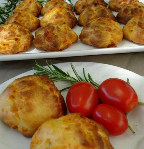 Cheddar Cheese Puffs | Appetizers | Pinterest