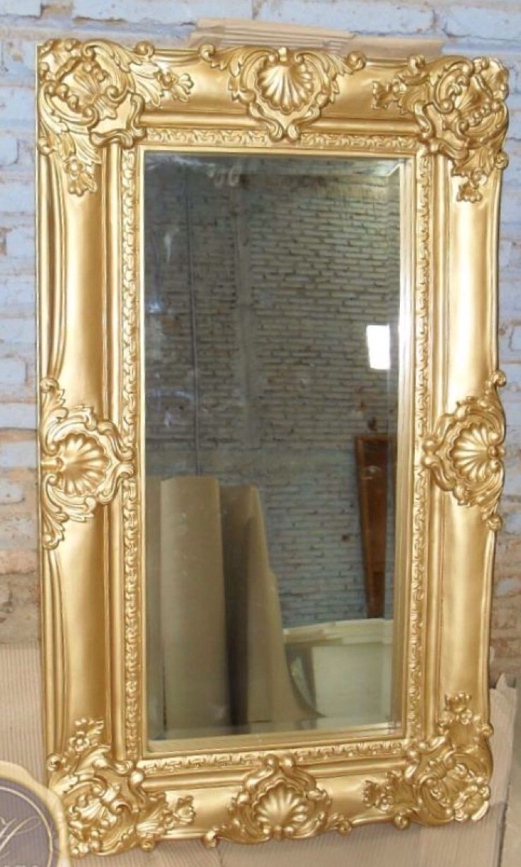 Luxury mirror mirrors pinterest for Floor mirror italian baroque rococo style in lacquer finish