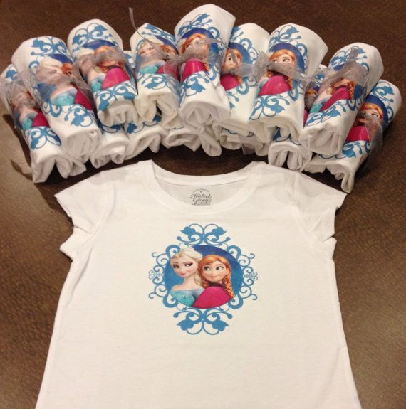 Frozen Birthday Party Favors