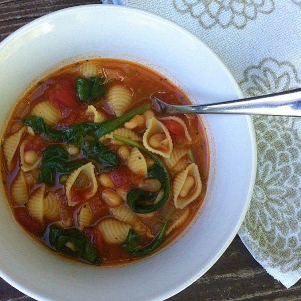 Vegan Machine: Tuscan White Bean Soup | Yummy | Pinterest