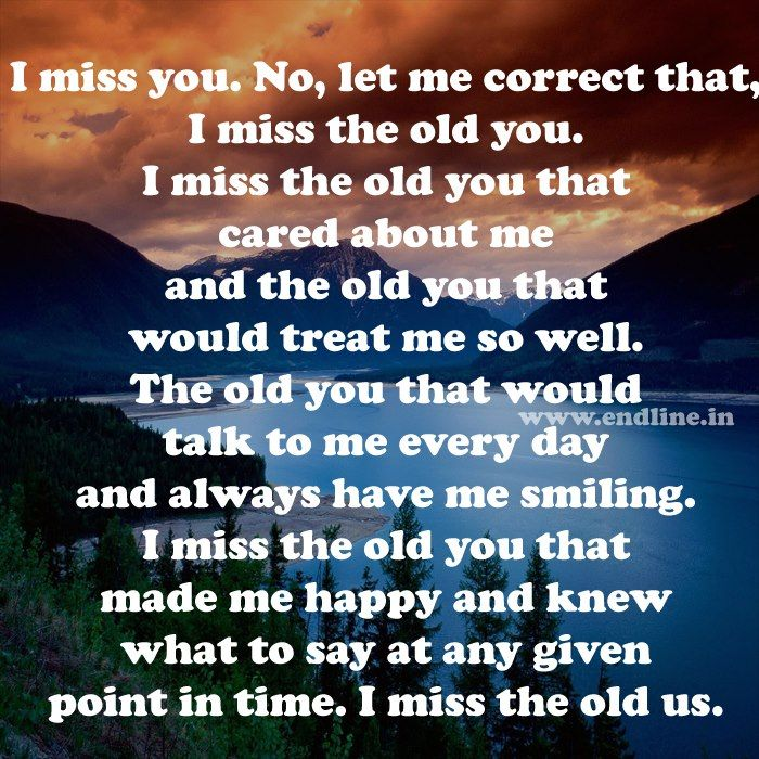 I Miss The Old Me Happy Quotes