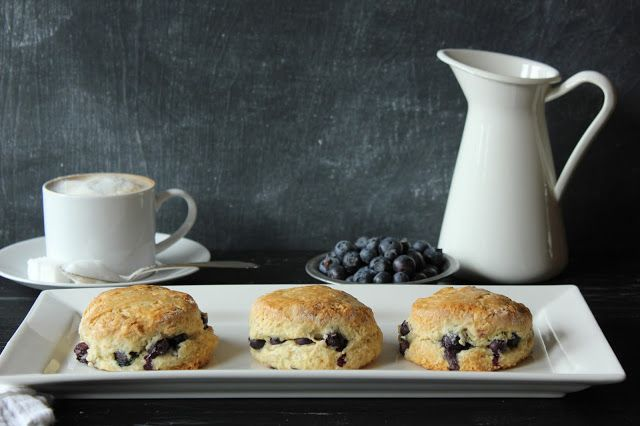 Pink Patisserie: Almond Blueberry Scones
