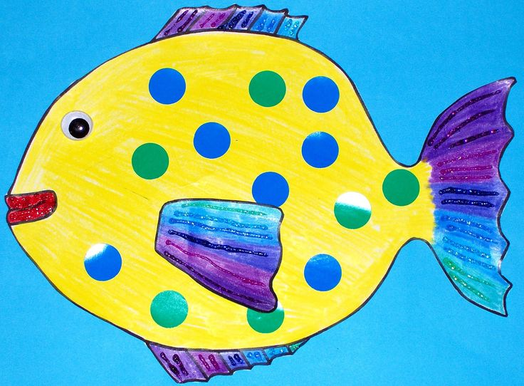 Fish craft preschool kids free colouring luau project for Fish crafts for preschoolers