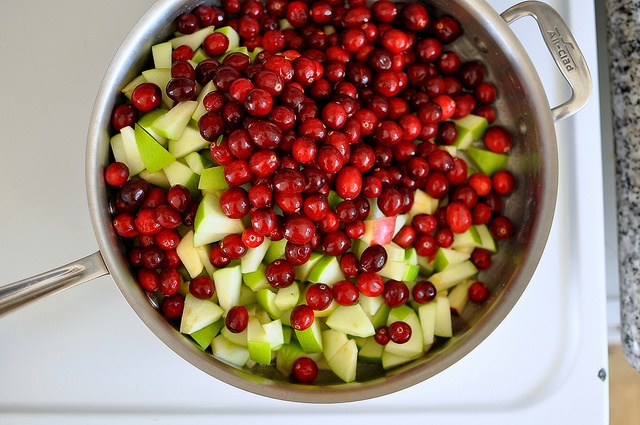 Cranberry-Apple Relish with Ginger and Serrano by cathydanh, via ...