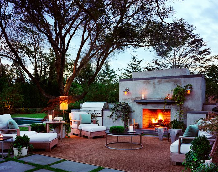 The Most Amazing Outdoor Kitchens Outdoor Fireplace Lounge