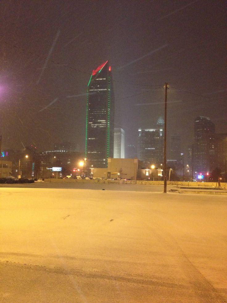 Snow Charlotte NC