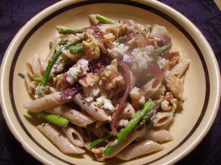 Penne with Asparagus, Gorgonzola and Prosciutto - Tasty and it's ...