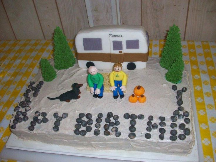 Brilliant   It Was A RVmotorhome Cake  Specifically A Fifthwheel Trailer