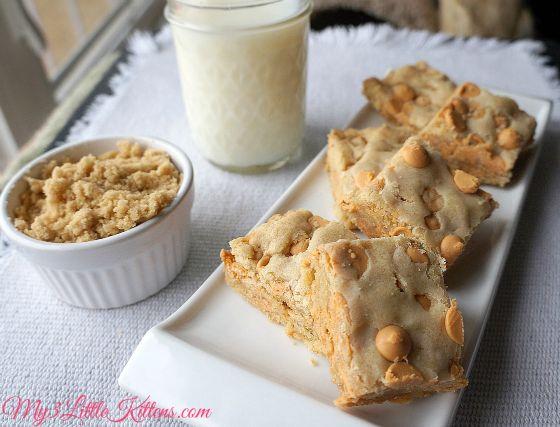 Butterscotch Blondies | Eats/Food | Pinterest