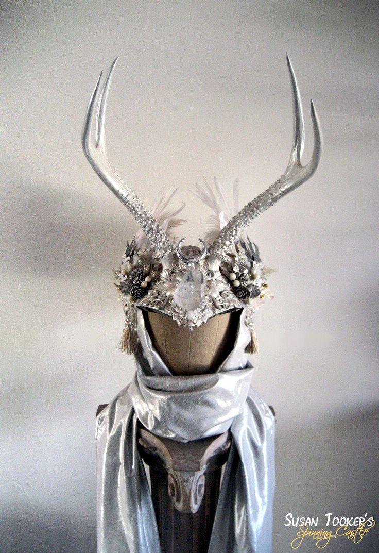 how to make antler headdress