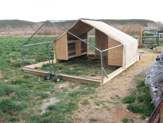 Pin Mobile Chicken Coop Plans With Run On Pinterest