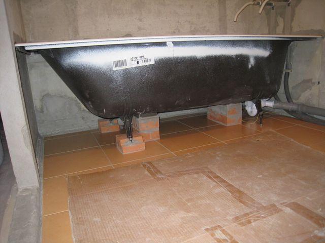 Сделать ножки под ванну своими руками 70