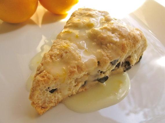 Meyer Lemon Blueberry Scones 1/2 dozen by crumblescookies on Etsy, $11 ...