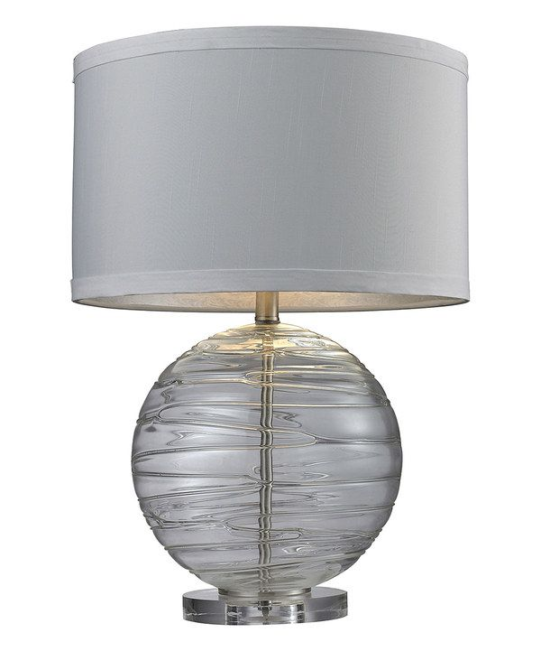look at this blown glass table lamp on zulily today. Black Bedroom Furniture Sets. Home Design Ideas