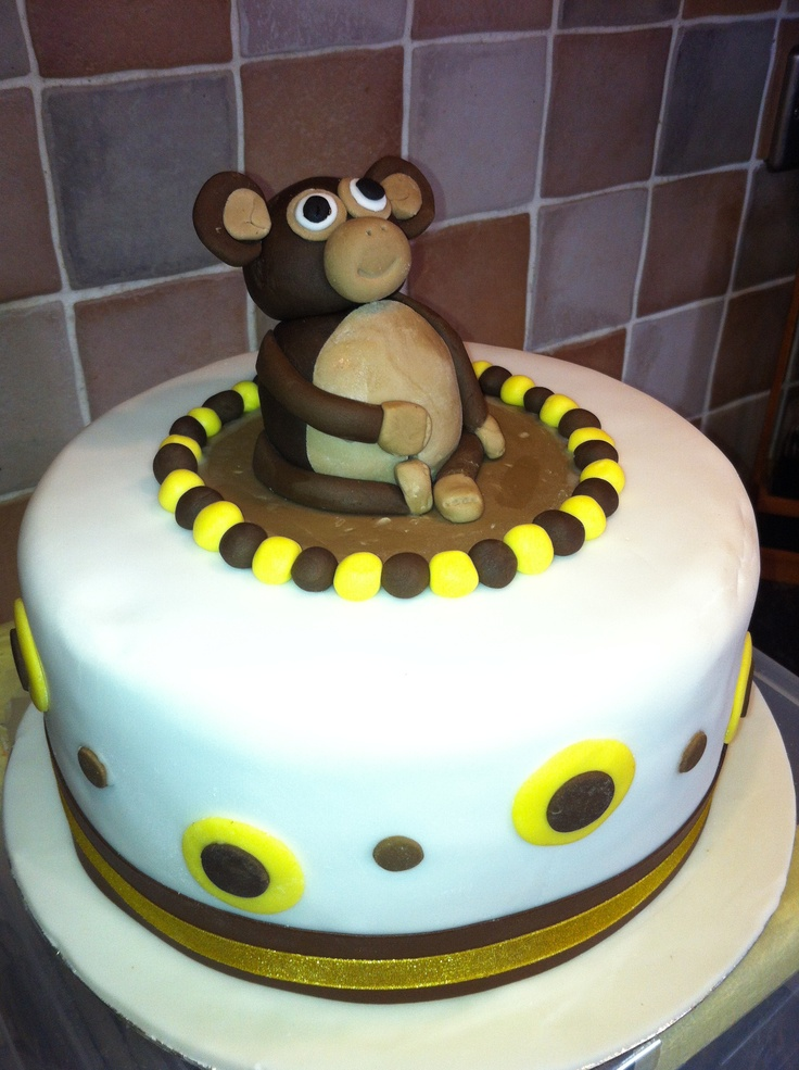 Birthday Cake Ideas Monkey : Monkey Birthday Cake Cake Ideas and Designs