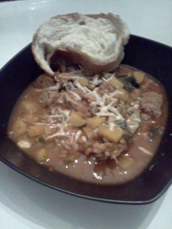 Rustic Italian Soup Print Rustic Italian Soup Ingredients 1 lb ...