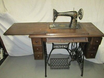 1920s singer sewing machine value