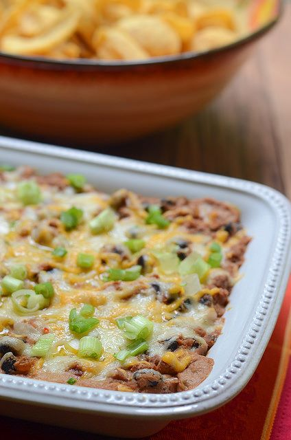 "Warm Cheesy Bean Dip. Don't forget the ""Bean-O"" or maybe the &q..."