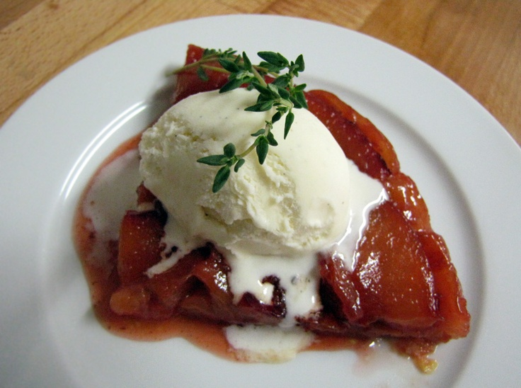 plum tarte tatin | Food | Pinterest
