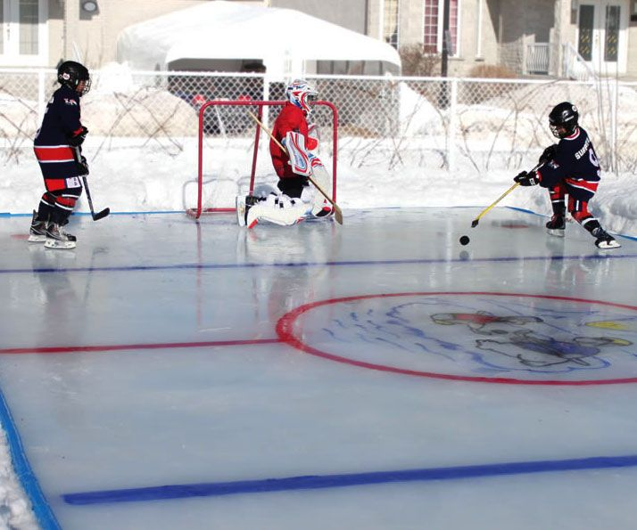 Backyard Ice Rink Kit : an actionpacked winter wonderland with the backyard ice rink The kit