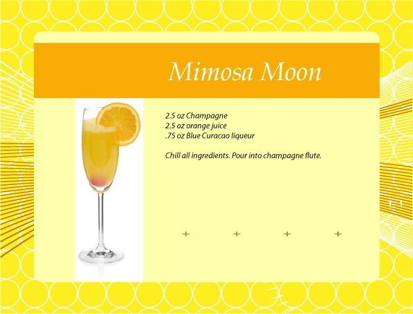 Mimosa Moon Cocktail Recipe