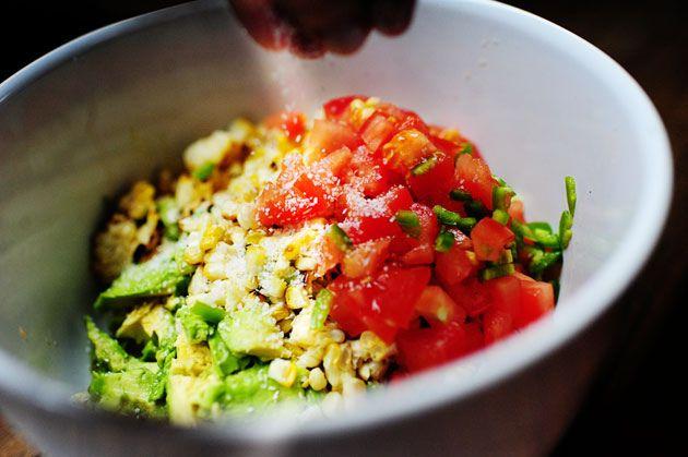 Grilled Corn Guacamole | Recipe