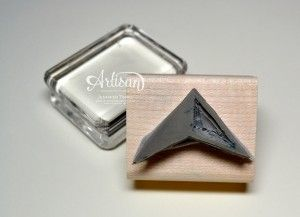 Undefined Triangle Stamp by Jennifer Timko
