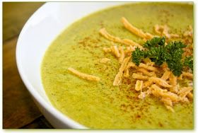 Helyn's Healthy Kitchen: Broccoli Cheeze Soup