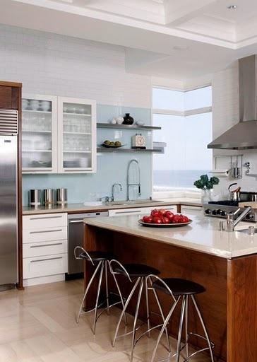 Light blue kitchen  Misty's ideas  Pinterest