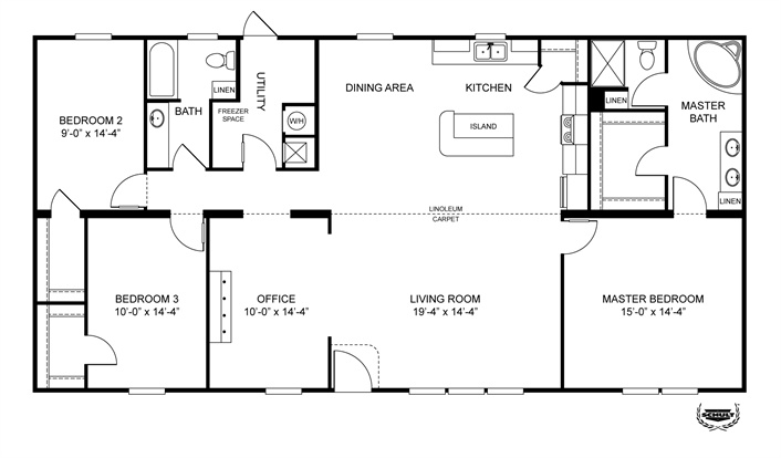 Plans Floor Plans For Double Wide Manufactured Homes Home Plans On