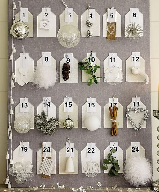 Unique Advent Calendar Ideas : Unique advent calendar holidays christmas pinterest