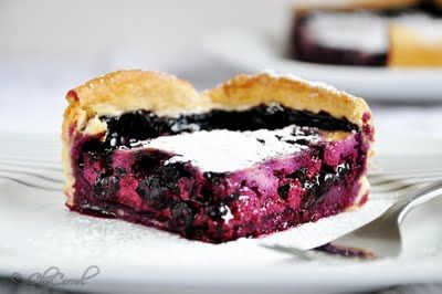 ... , SmeLLS: blueberry and cream tart/tarta de moras azules con crema