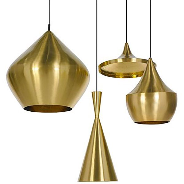Brass Beat Lights by Tom Dixon