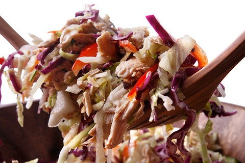 """Chinese-y"""" chicken salad. By Francine Maroukian for Chow.com (Ed ..."""
