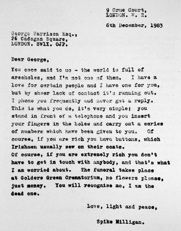 Pin By Maryann Mauro On LETTERS FROM THE BEATLES