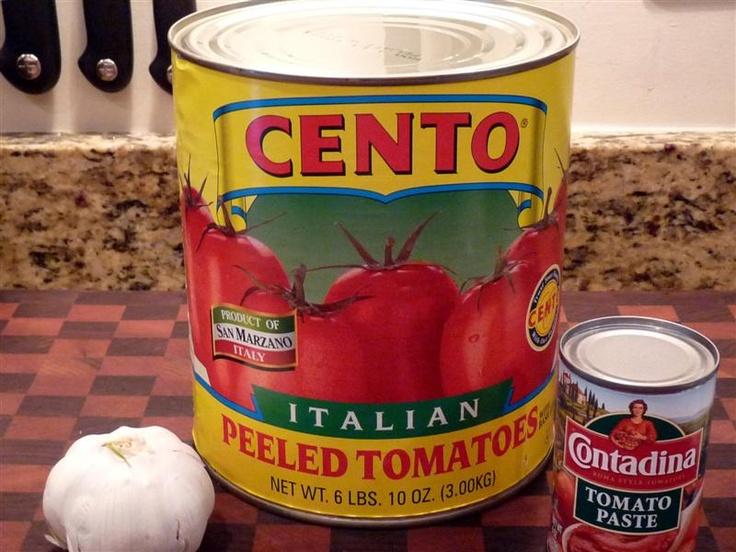 San Marzano Tomatoes - Marinara Sauce recipe