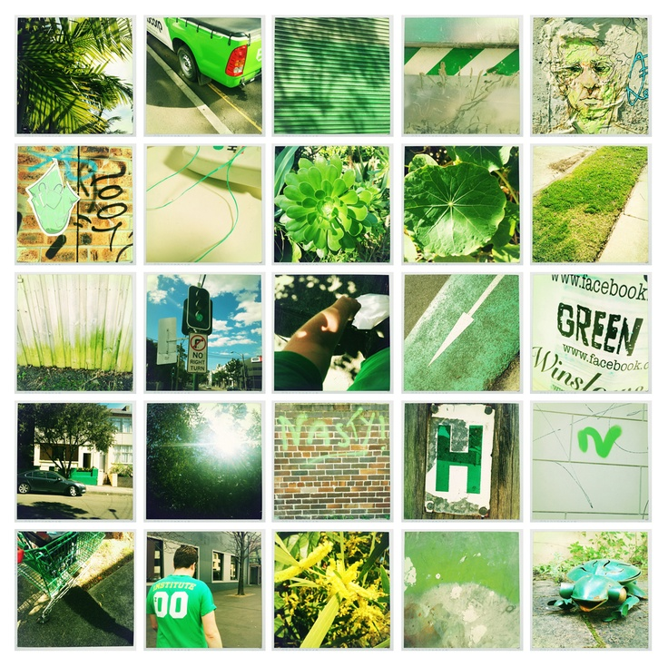 A Day In Green…