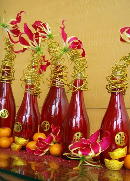 Chinese new year table decoration ideas photograph chinese - New year table decorations ...