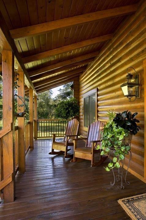 Rustic Porch Verandas Porches Pinterest