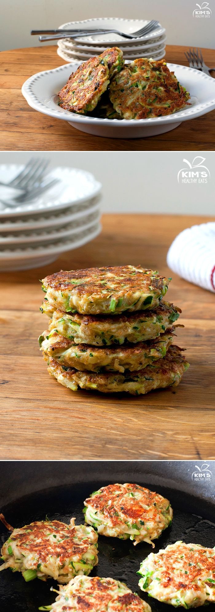 Zucchini Fritters...leave out the cheese in the recipe and add it to ...